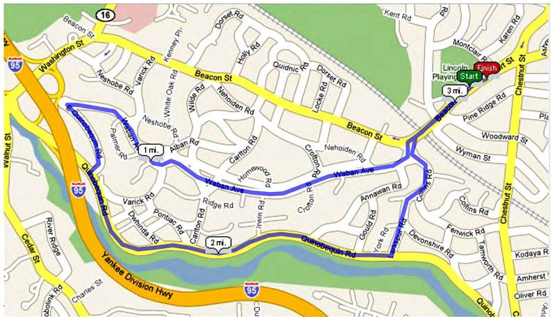 Fun Run Map