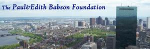 Paul & Edith Babson Foundation